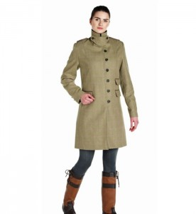 Long Tweed Coat Ladies - JacketIn