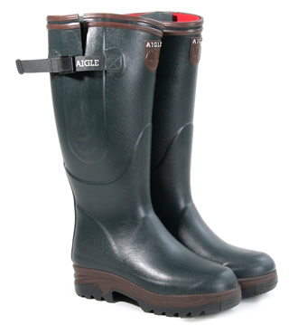 aigles wellington boots