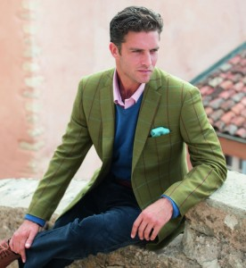Brook Taverner Saluki Tweed Jacket